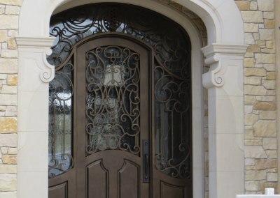 Monte Sereno Complete Rebuild Home Construction Entrance
