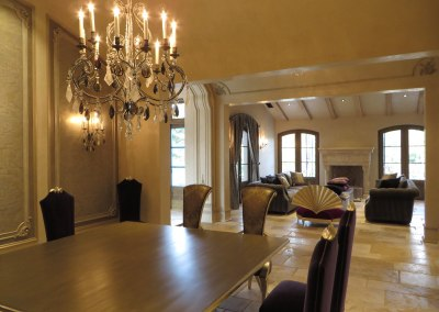 Monte Sereno Dining Room Construction
