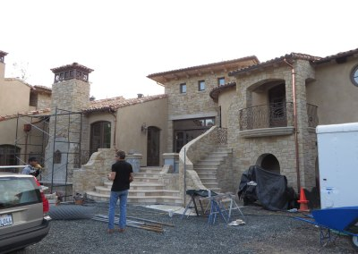 Monte Sereno Construction Back Entry
