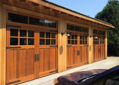 Woodside House - Garages - New Construction