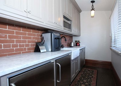 Los Gatos Construction Perrin House Kitchenette