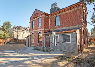Los Gatos Construction Perrin House Back Entryway