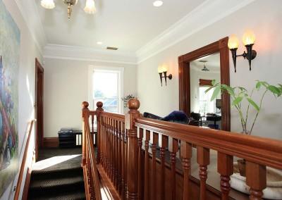 Los Gatos Construction Perrin House Staircase Top